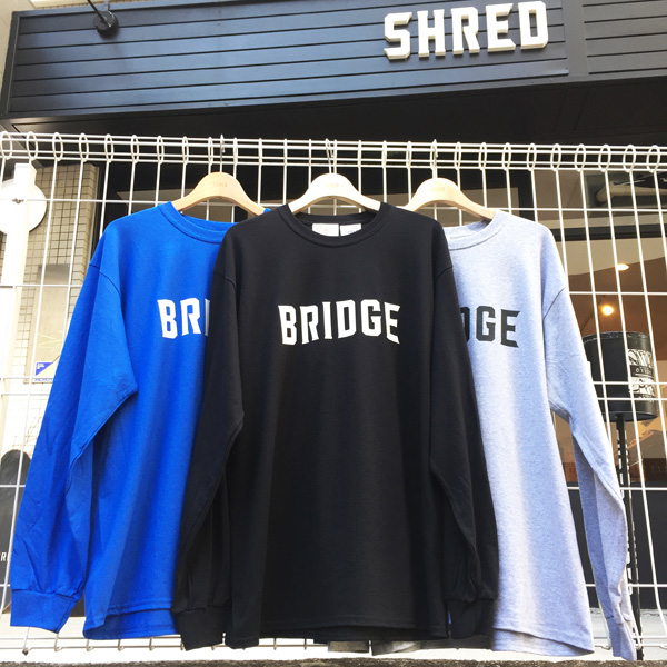 SHRED×Bridge-bridge-Black