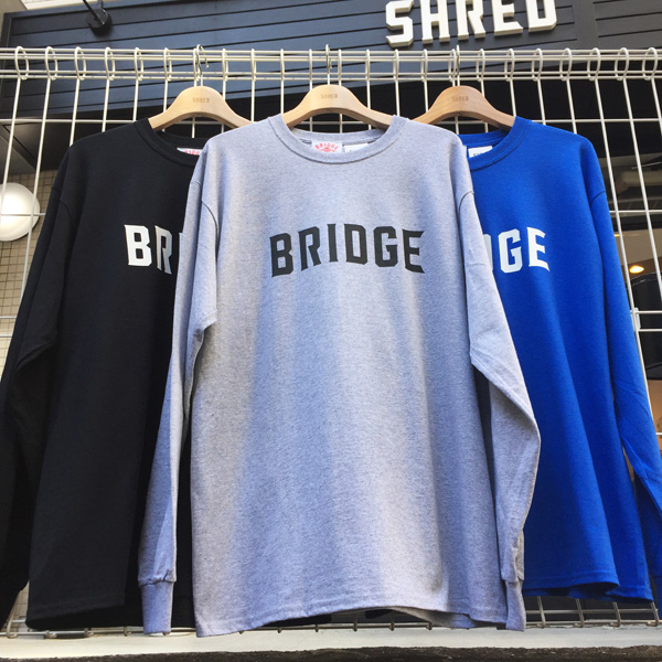 SHRED×Bridge-bridge-Gray