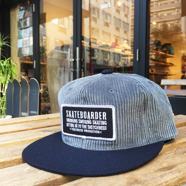SKATEBOARDER-Gray