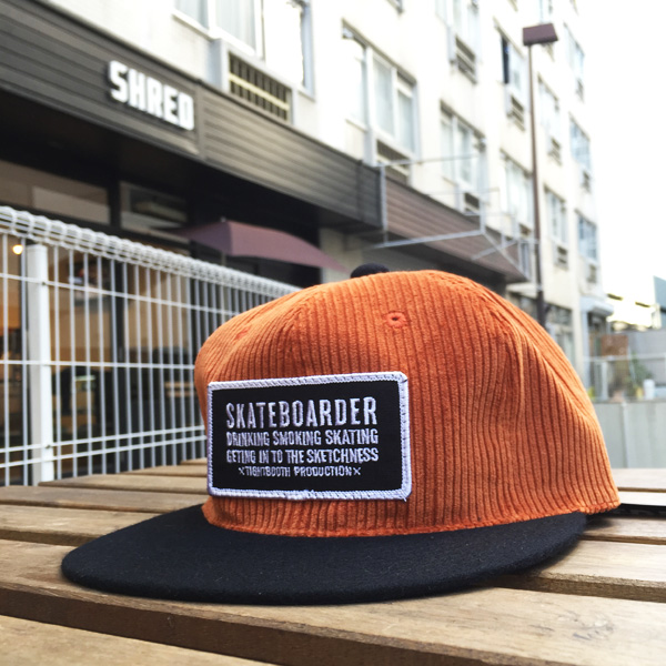 SKATEBOARDER-Orange